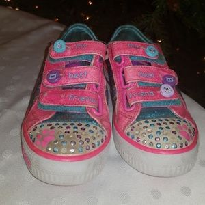 Sketchers 💎💕Pop Princess Girls Shoes Sneakers 12